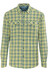 Columbia Silver Ridge Plaid Long Sleeve Shirt Men Mineral Yellow